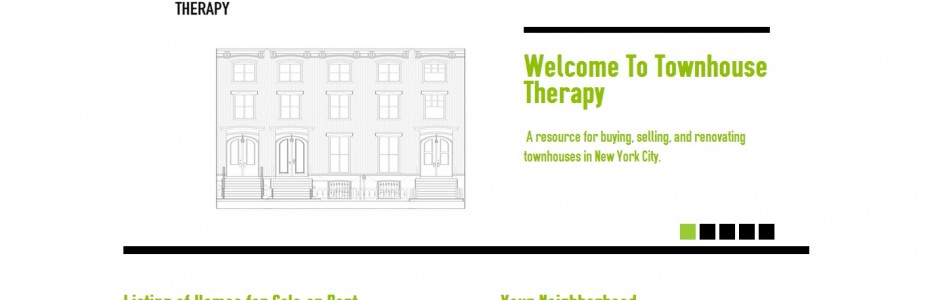Townhouse Therapy Real Estate Resource Directory