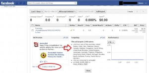 Correct Targeting of Existing Facebook Post Promotion