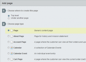 Example of SilverStripe Page Templates