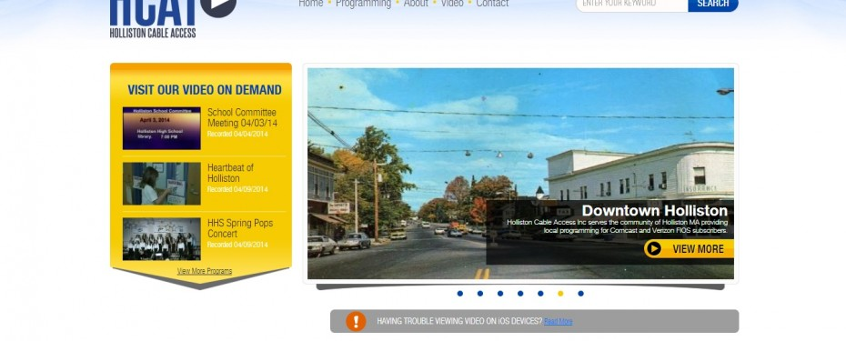 Holliston Public Access TV - HCAT - Home Page