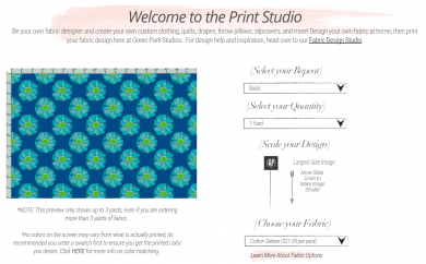 The Fabric Design and Configurator Tool